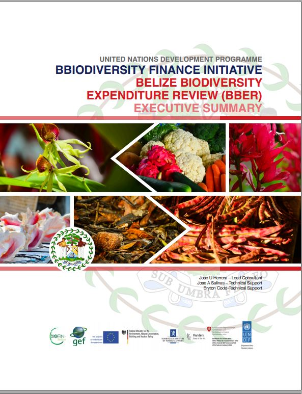 BIOFIN Belize- Biodiversity Expenditure Review
