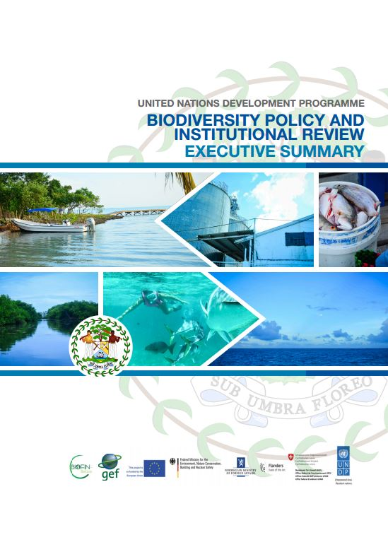 BIOFIN  Belize-Policy and Institutional Review (PIR)