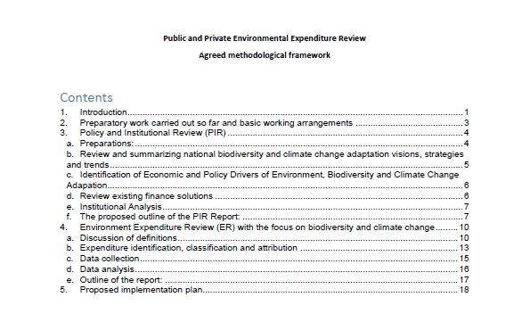 Kyrgyzstan Public and Private Environmental Expenditure Review